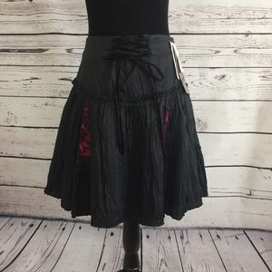 NWT! Betsey Johnson fancy skirt size 8